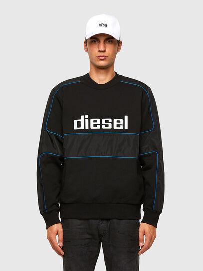 Diesel - S-LAIN, Black - Sweaters - Image 1