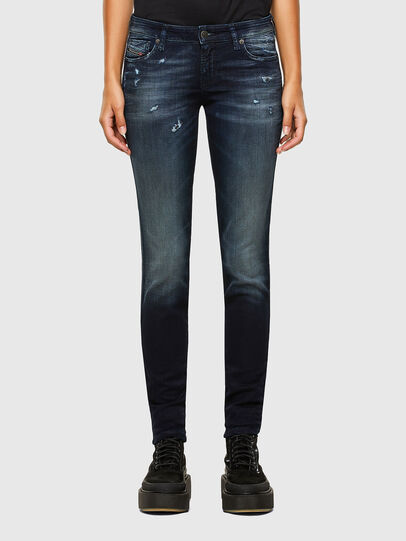 Diesel - Gracey JoggJeans 069PZ, Dark Blue - Jeans - Image 1