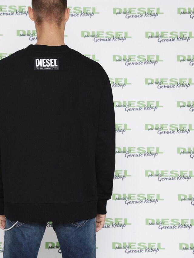 Diesel - MU-FESTA, Black - Sweaters - Image 3