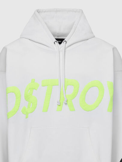 Diesel - S-ALBY-X6, White - Sweaters - Image 3