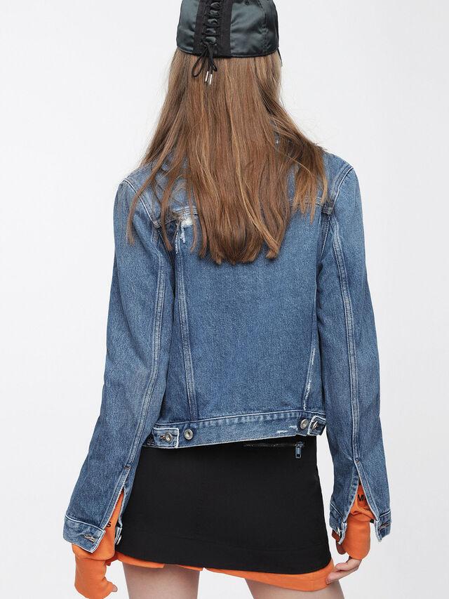 Diesel - DE-VELVET, Blue Jeans - Denim Jackets - Image 2