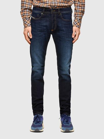 Diesel - Sleenker 009EY, Dark Blue - Jeans - Image 1