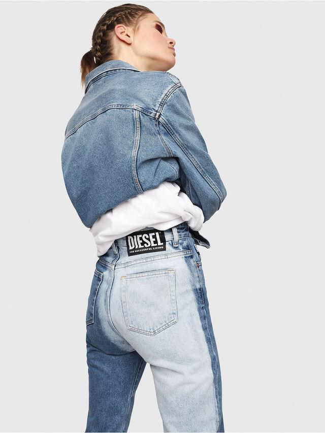 Diesel - D-Eiselle 0077V, Medium blue - Jeans - Image 4