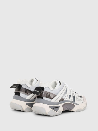 Diesel - S-KIPPER LOW TREK, White/Grey - Sneakers - Image 3