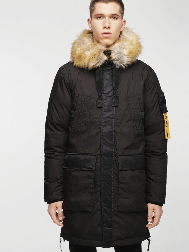 Diesel - W-BULLION, Black - Winter Jackets - Image 5