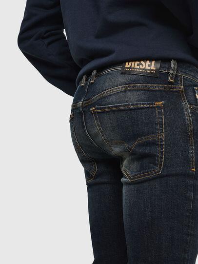 Diesel - Sleenker 069FX, Dark Blue - Jeans - Image 4
