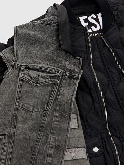 Diesel - D-Istort 069EF, Black/Dark grey - Jeans - Image 6