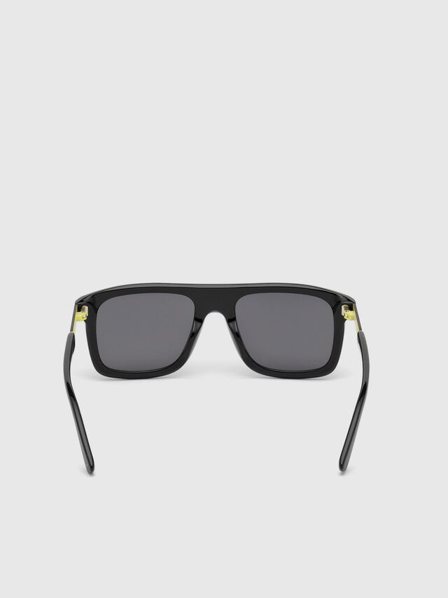 Diesel - DL0268, Black - Sunglasses - Image 4