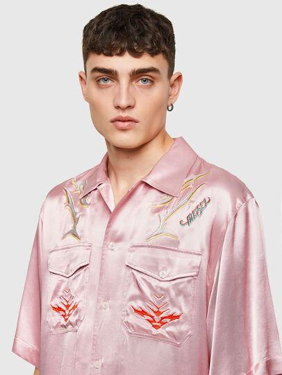 Diesel - S-MITCH, Pink - Shirts - Image 5