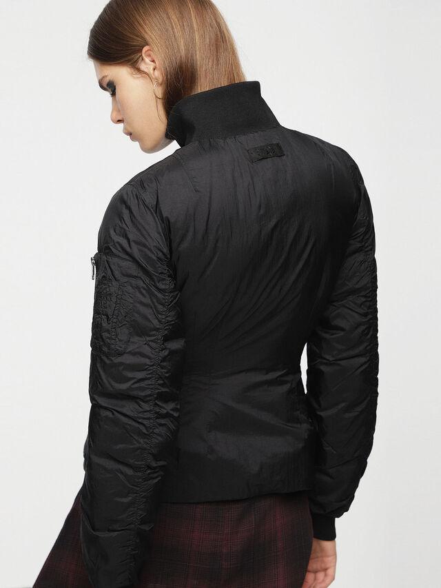 Diesel - W-BLANKYT, Black - Winter Jackets - Image 3