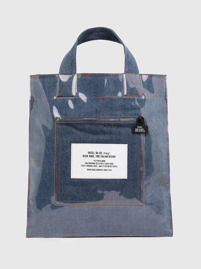 Diesel - F-THISBAG SHOWEI, Blue Jeans - Shopping and Shoulder Bags - Image 1