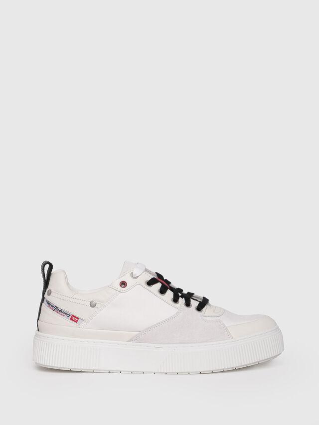 Diesel - S-DANNY LC, Cream - Sneakers - Image 1