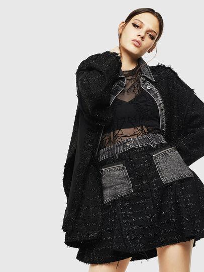 Diesel - O-NYELA, Black - Skirts - Image 4