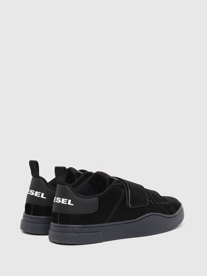 Diesel - S-CLEVER LOW STRAP W, Black - Sneakers - Image 3
