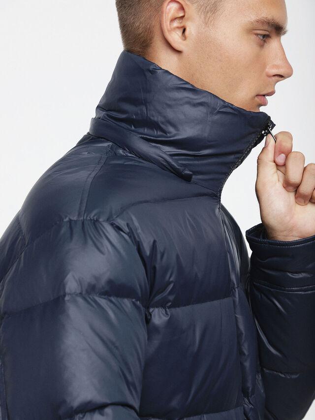 Diesel - W-SMITH-A, Blue - Winter Jackets - Image 5