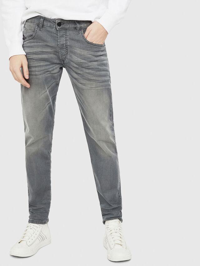Diesel - D-Bazer 0699P, Grey Jeans - Jeans - Image 1