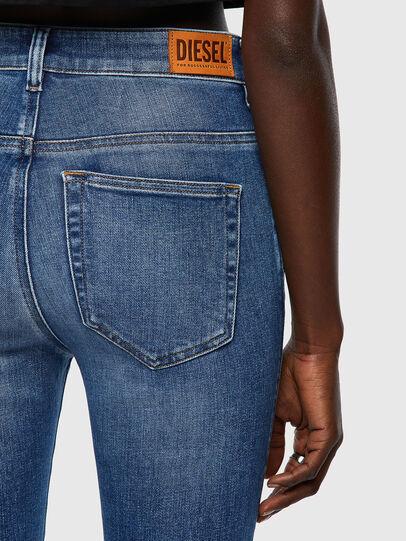 Diesel - Slandy High 009QS, Light Blue - Jeans - Image 3