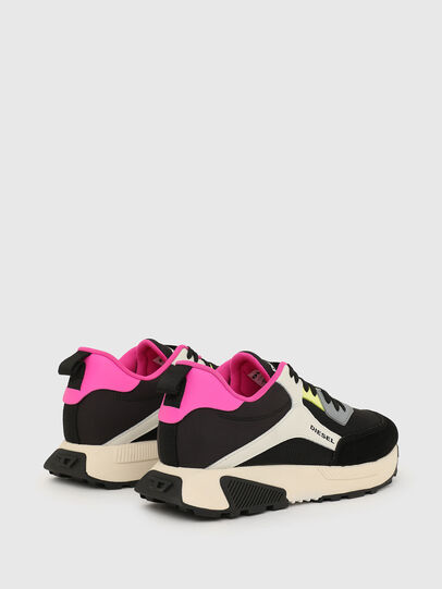 Diesel - S-TYCHE LOW CUT W, Black/Pink - Sneakers - Image 3