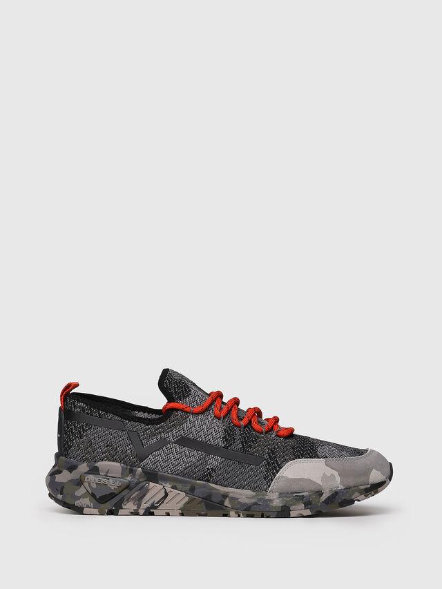 Diesel - S-KBY, Gray/Black - Sneakers - Image 1