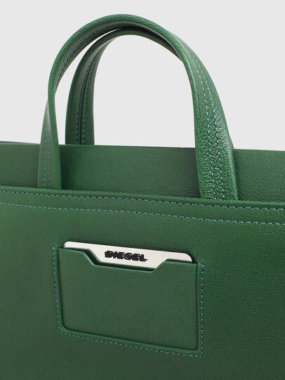Diesel - AMETISTA, Green - Shopping and Shoulder Bags - Image 6