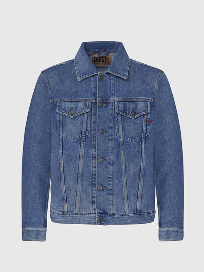 Diesel - D-SAL, Light Blue - Denim Jackets - Image 1