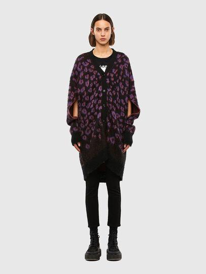 Diesel - M-REBECCA, Violet/Black - Knitwear - Image 1
