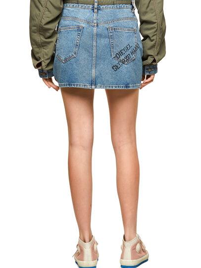 Diesel - DxD-SKIRT, Light Blue - Skirts - Image 2