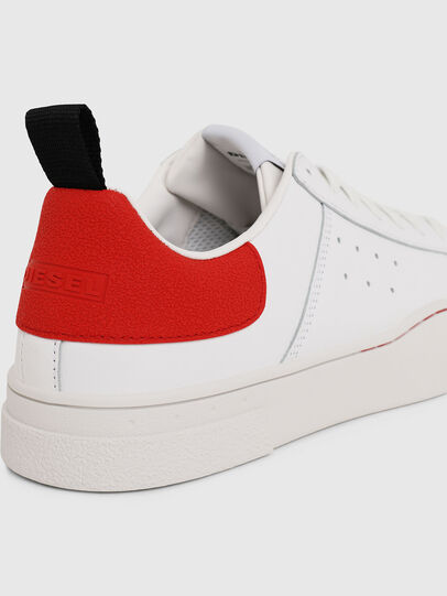 Diesel - S-CLEVER LOW, White/Red - Sneakers - Image 4