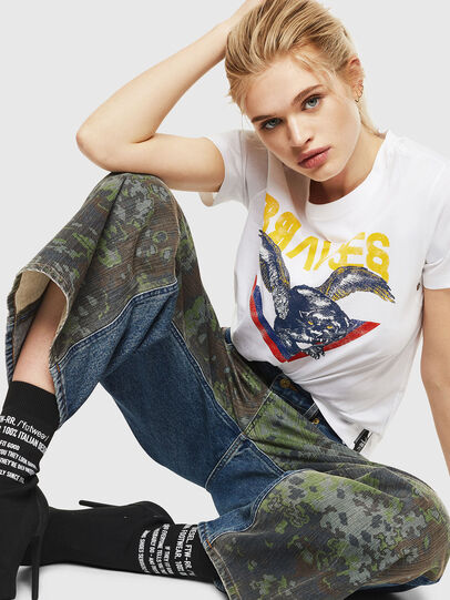 Diesel - T-SILY-WP,  - T-Shirts - Image 4
