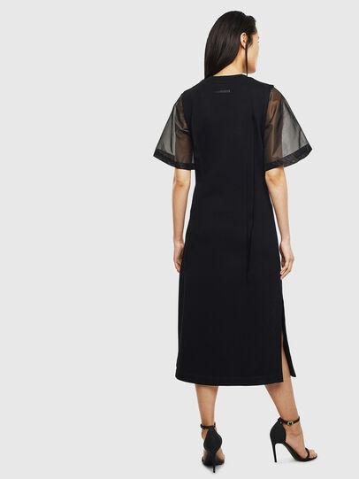 Diesel - D-GOLD, Black - Dresses - Image 2