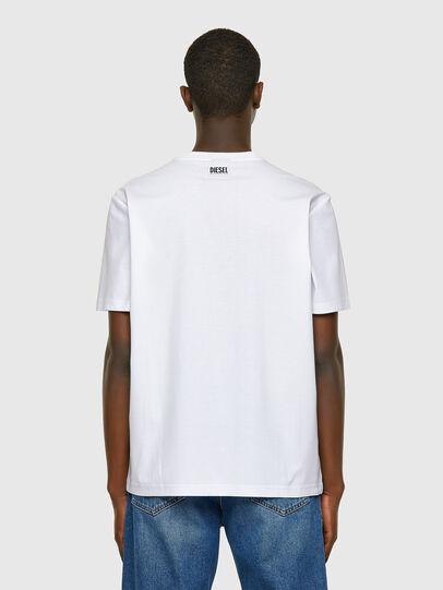 Diesel - T-JUST-VO, White - T-Shirts - Image 2