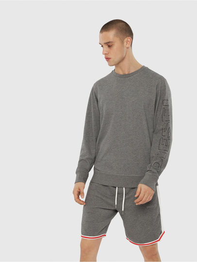 Diesel - UMLT-WILLY, Grey - Sweaters - Image 1