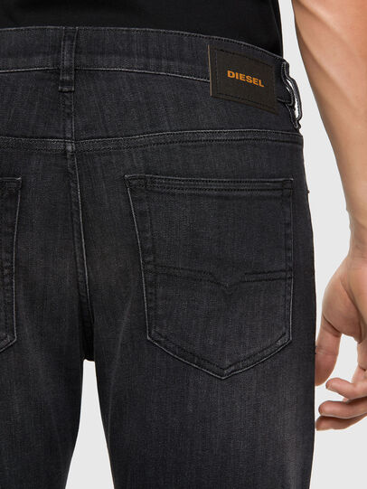 Diesel - D-Luster 009EN, Black/Dark grey - Jeans - Image 4