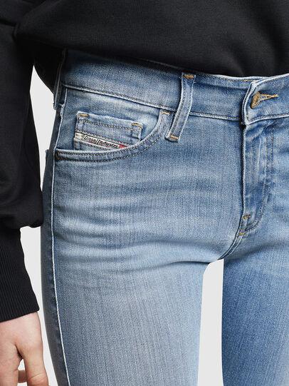Diesel - Slandy 0096L, Light Blue - Jeans - Image 4