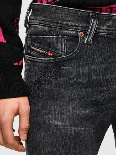 Diesel - Sleenker 009QA, Black/Dark grey - Jeans - Image 5