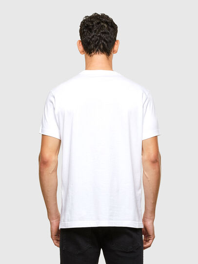 Diesel - T-DIEGOS-A1, White - T-Shirts - Image 2
