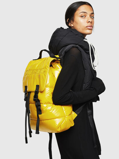 Diesel - VOLPAGO BACK, Yellow - Backpacks - Image 6