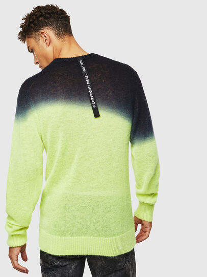 Diesel - K-TREAT, Yellow Fluo - Knitwear - Image 2