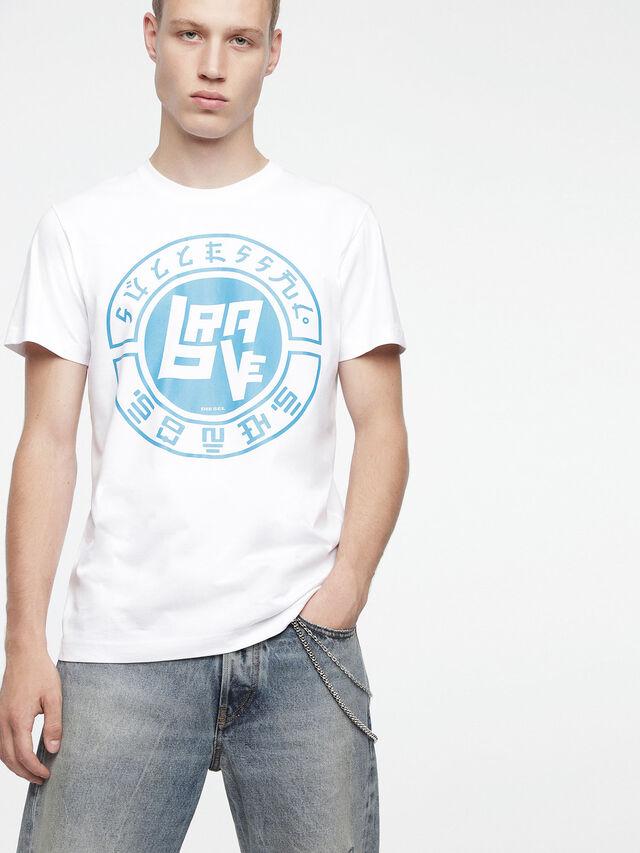 Diesel - T-DIEGO-XC, White - T-Shirts - Image 1