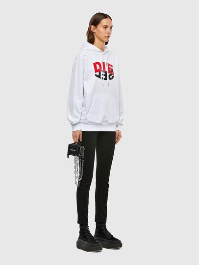 Diesel - S-GIRK-HOOD-N1, White - Sweaters - Image 8