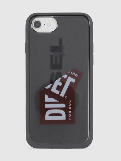Diesel - STICKER IPHONE 8/7/6S/6 CASE, Black - Cases - Image 2