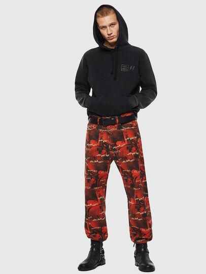 Diesel - S-GIRK-HOOD-SUN, Black - Sweaters - Image 8