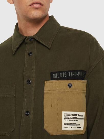 Diesel - S-LEBED, Dark Green - Shirts - Image 3
