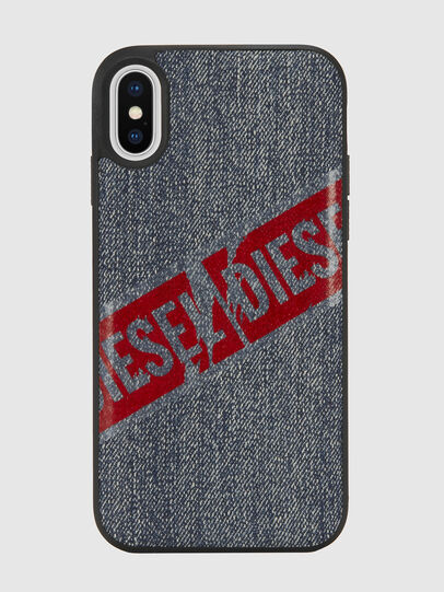 Diesel - VINTAGE DENIM IPHONE X CASE,  - Cases - Image 2