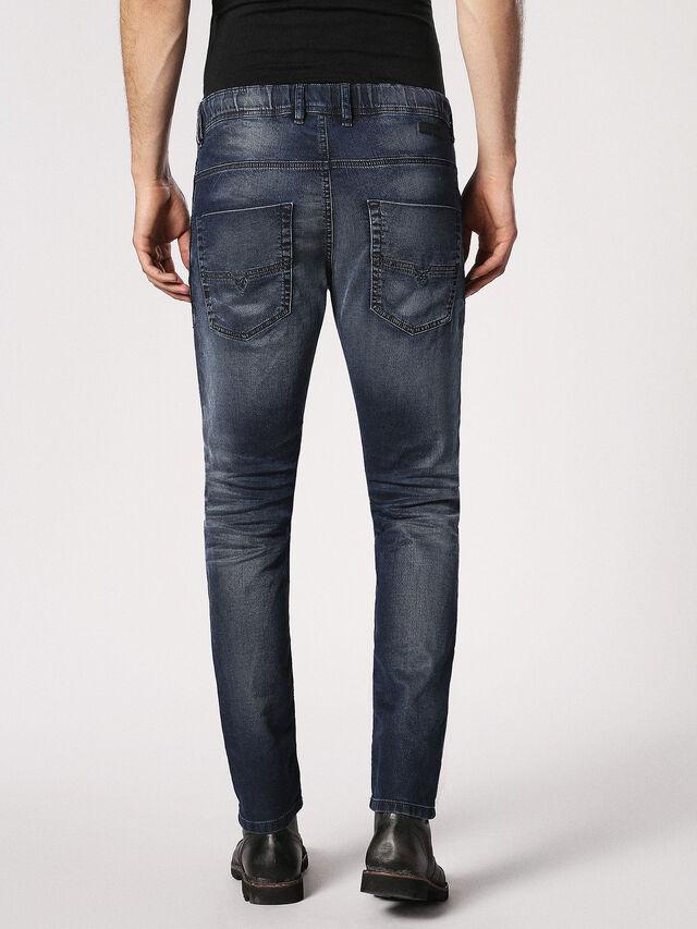 Diesel Krooley JoggJeans 0683Y, Dark Blue - Jeans - Image 3