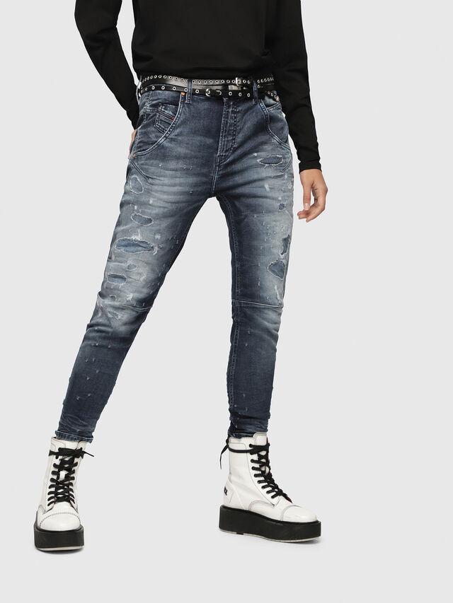 Diesel - Fayza JoggJeans 069CC, Dark Blue - Jeans - Image 1