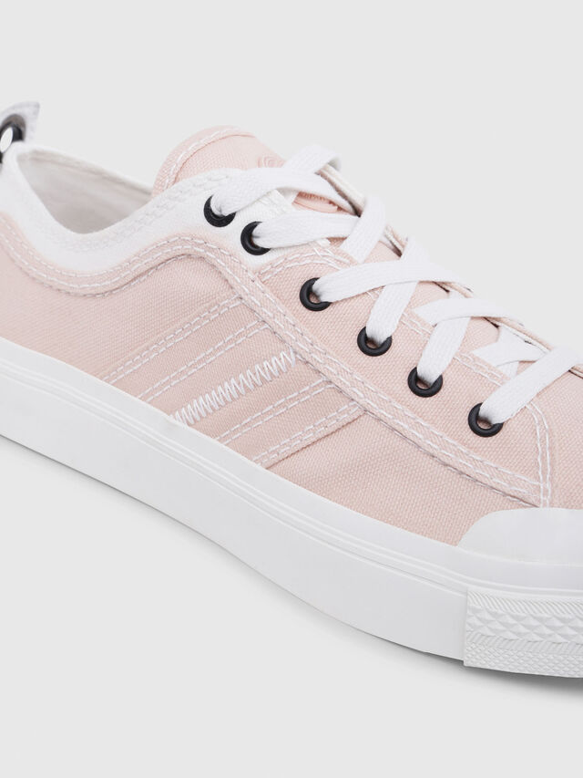 Diesel - S-ASTICO LOW LACE W, Pink/White - Sneakers - Image 5