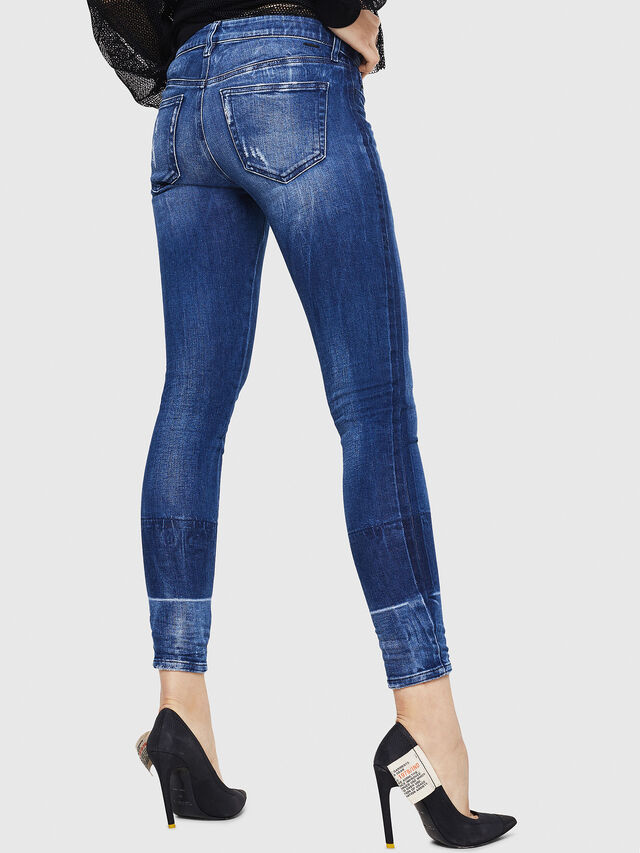 Diesel - Slandy 0090K, Medium blue - Jeans - Image 2