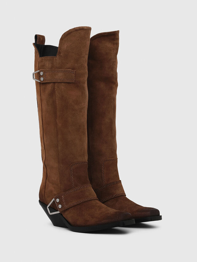 Diesel - D-GIUDECCA MB, Brown - Boots - Image 2