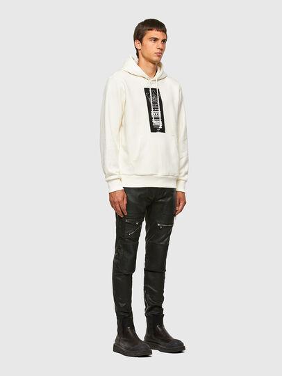 Diesel - S-GIRK-HOOD-N3, White - Sweaters - Image 4